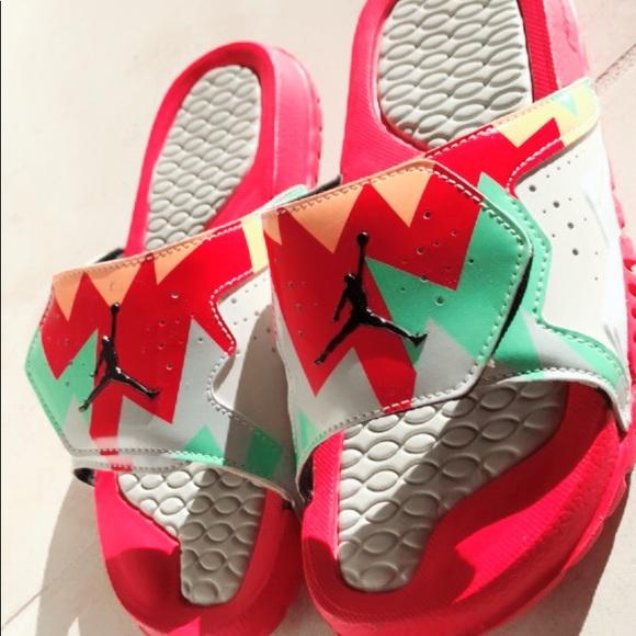 7db0a1c8ec1 Jordan Shoes - Nike Jordan Hydro VII RETRO slide on sandals 5Y